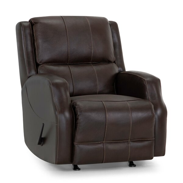 Annalee Leather Manual Rocker Recliner W002014409