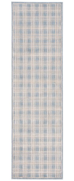 Hollywood Shimmer Mission Craft Gray/Ivory Area Rug by Kathy Ireland Home