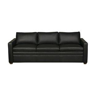 Rolette Leather Sleeper Sofa