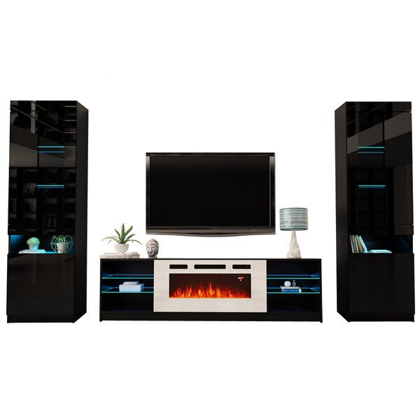 Great Deals Delaine Entertainment Center For TVs Up To 88