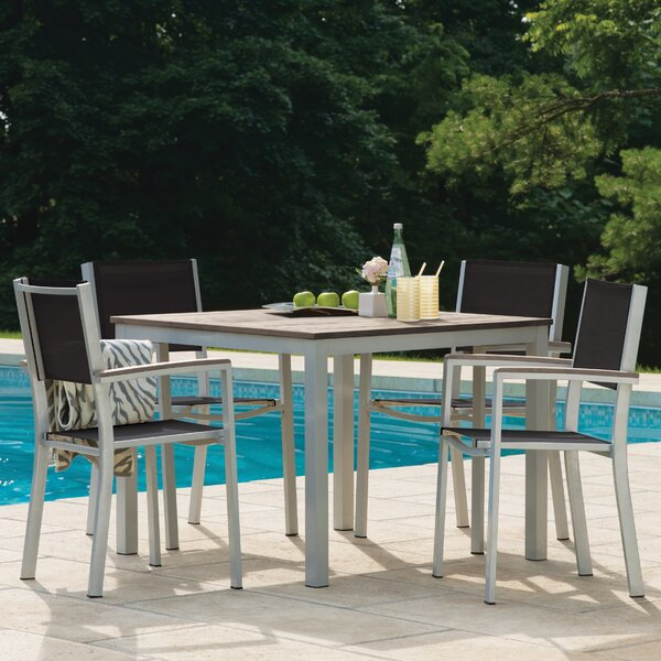 Caspian 5 Piece Dining Set by Sol 72 Outdoor