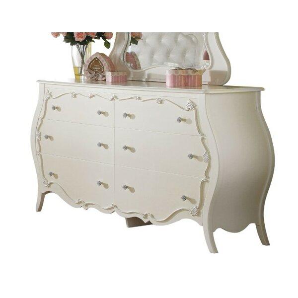 Bruder Look 6 Drawer Double Dresser by Harriet Bee
