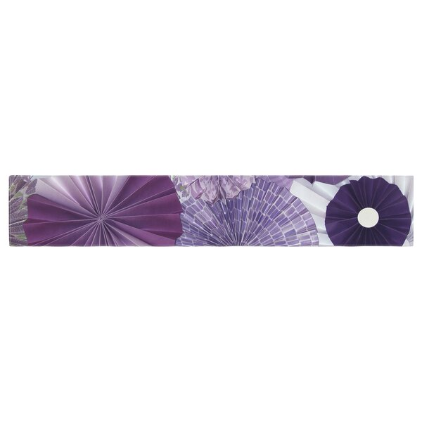 Heidi Jennings Wishes Table Runner by East Urban Home