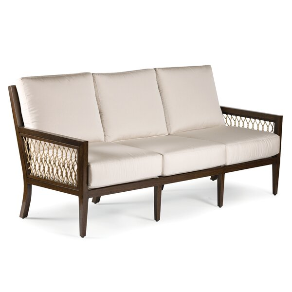 Echo Bay Patio Sofa with Sunbrella Cushions by Eddie Bauer