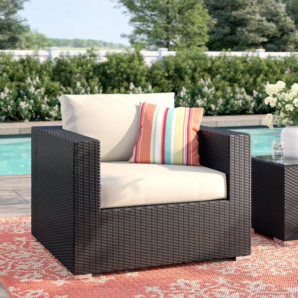 Brentwood Patio Chair with Cushions by Sol 72 Outdoor