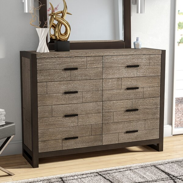 Riverdale 8 Drawer Double Dresser by Wade Logan