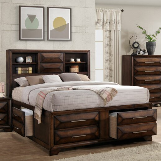 Pennington Storage Standard Bed by Union Rustic