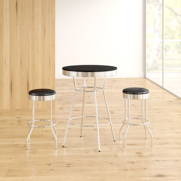 Anissa 3 Piece Pub Table Set by Zipcode Design Zipcode Design