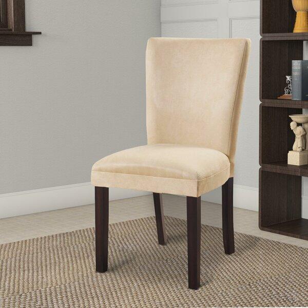 Hoekstra Modish Side Upholstered Dining Chair (Set of 2) by Winston Porter Winston Porter