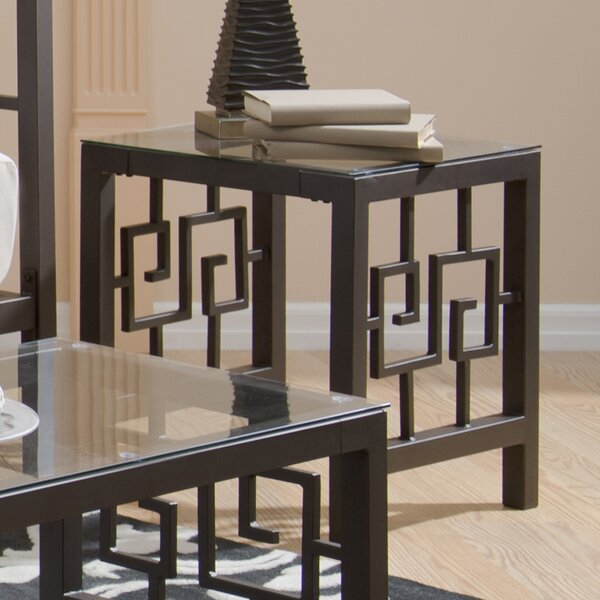 Greek Key End Table by In Style Furnishings In Style Furnishings