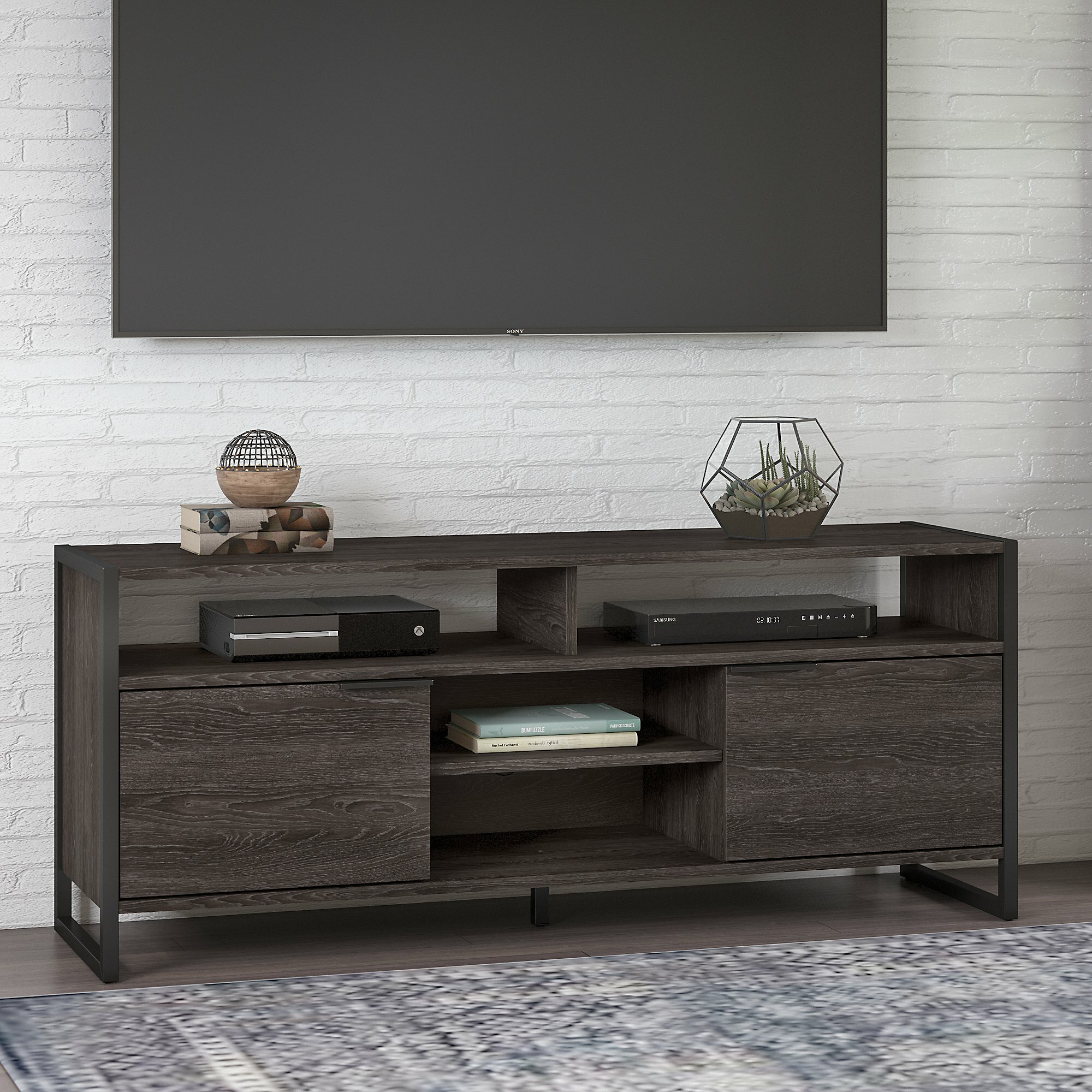 Kathy Ireland Home By Bush Furniture Tv Stand For Tvs Up To 70 Reviews Wayfair