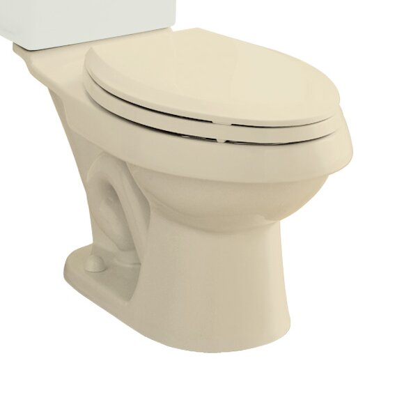 Dual Force Dual Flush Elongated Toilet Bowl Only by Sterling by Kohler