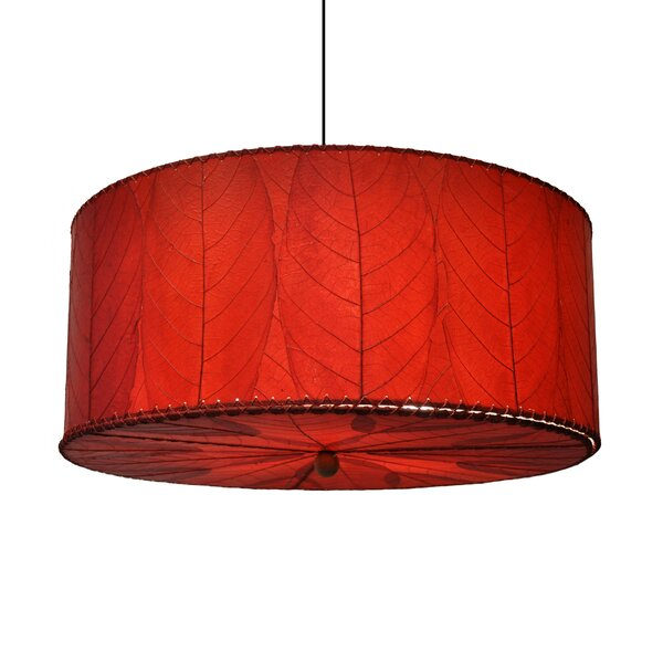 Quintan 3-Light Unique / Statement Drum Chandelier By Ebern Designs