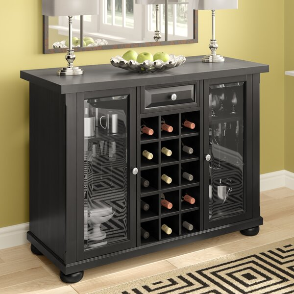 Pottstown Bar Cabinet with Wine Storage by Darby Home Co