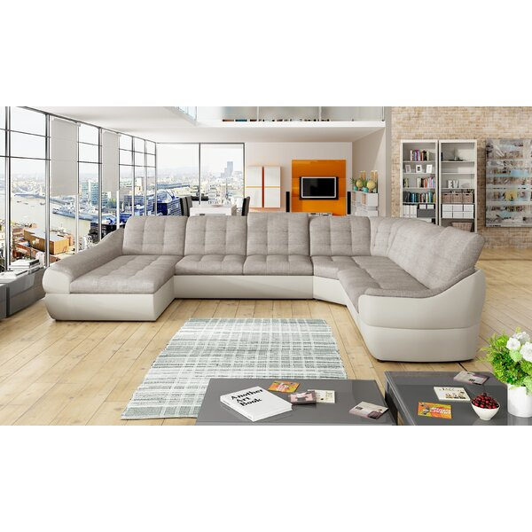 Hadleigh Left Hand Facing Sleeper Sectional By Orren Ellis