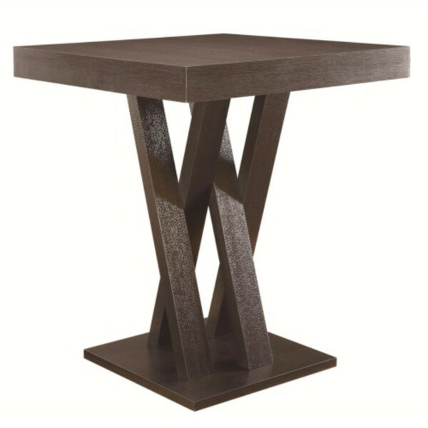 Dechant Wooden Counter Height Dining Table by Wrought Studio