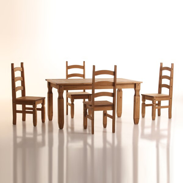 Swink Complete 5 Piece Dining Set by August Grove