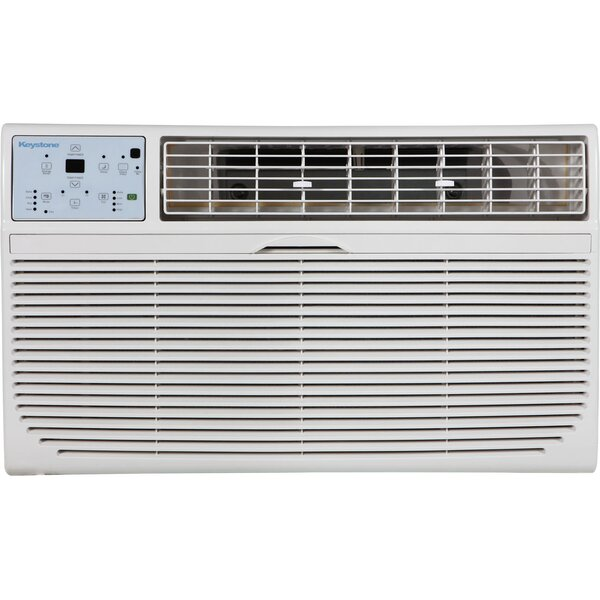 8,000 BTU Energy Star Through the Wall Air Conditioner with Remote by Keystone