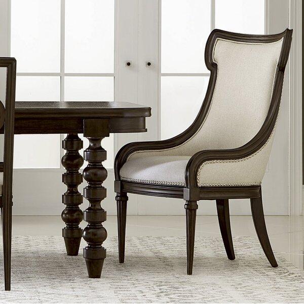 Delahunt Upholstered Dining Chair (Set of 2) by Rosdorf Park