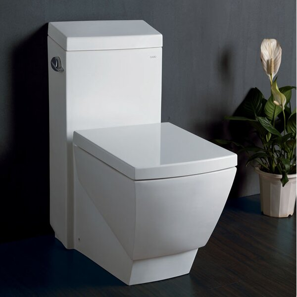 Apus Square 1.6 GPF Elongated One-Piece Toilet by Fresca