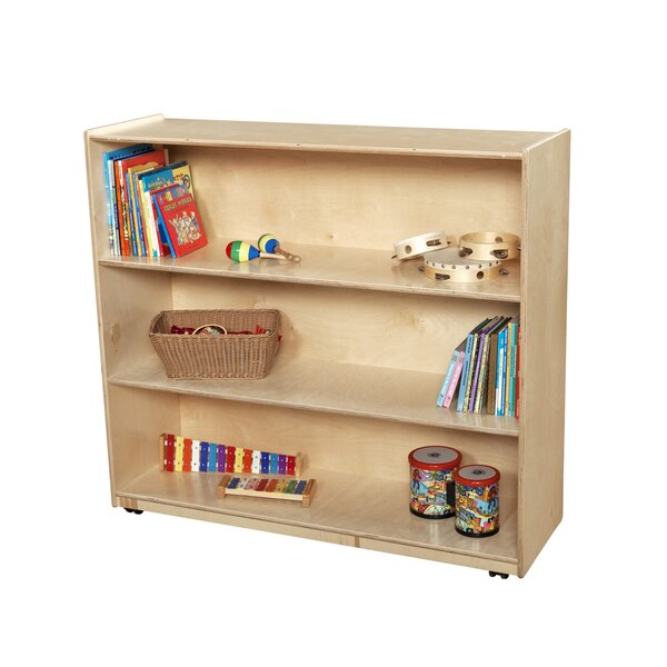 Shelving Unit with Casters by Wood Designs