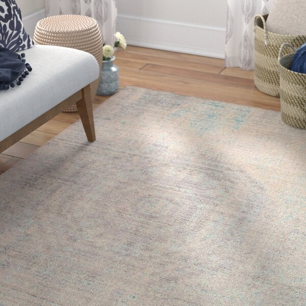 Privette Gray Area Rug by Bungalow Rose