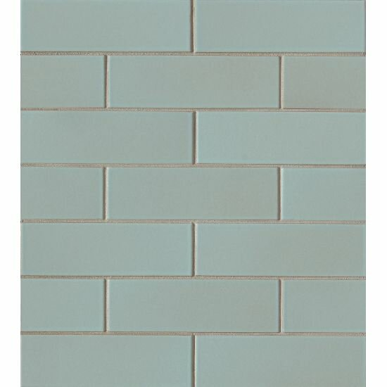 Reverie 2 x 6 Porceclain Subway Tile in Green by Grayson Martin