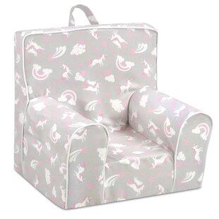 Bunton Unicorn Dreams Kid's Chair ByZoomie Kids