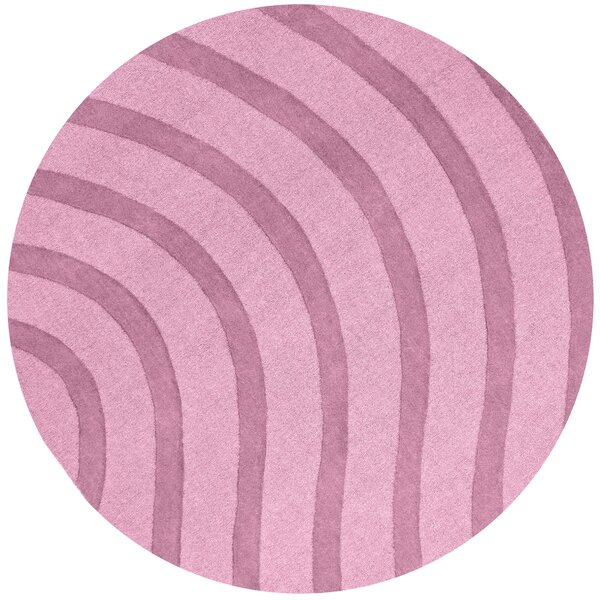 Transitions Light Pink Waves Rug by St. Croix
