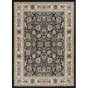 Comparison Persa Tabriz Oriental Persian BlackBeige Area Rug ByWell Woven