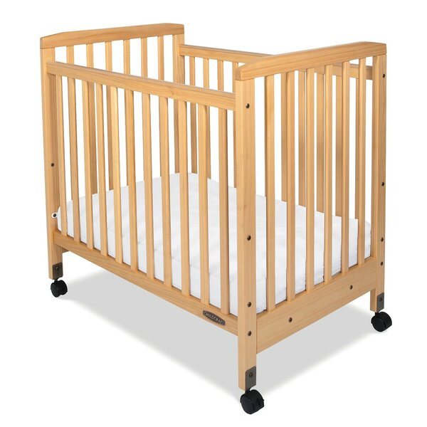 Bristol Professional Series Compact Child Care Crib with Mattress by Child Craft