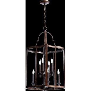 Best Choices Politte 8-Light Foyer Lantern Pendant ByLoon Peak