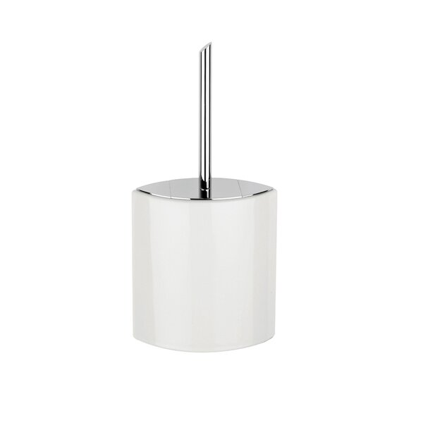 Glam Free Standing Toilet Brush and Holder by WS Bath Collections