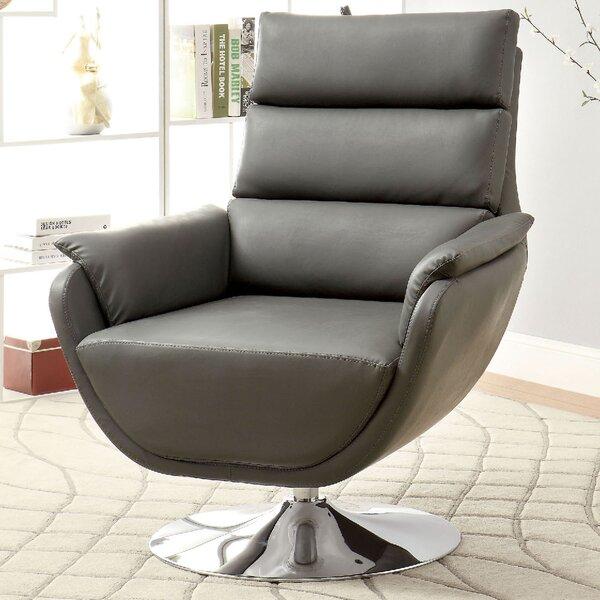 Kulm Swivel Lounge Chair by A&J Homes Studio