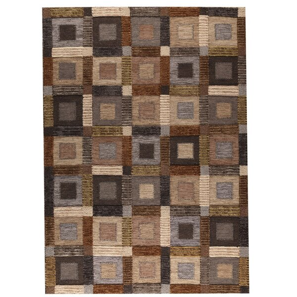 Big Box Hand-Woven Gray Area Rug by Hokku Designs