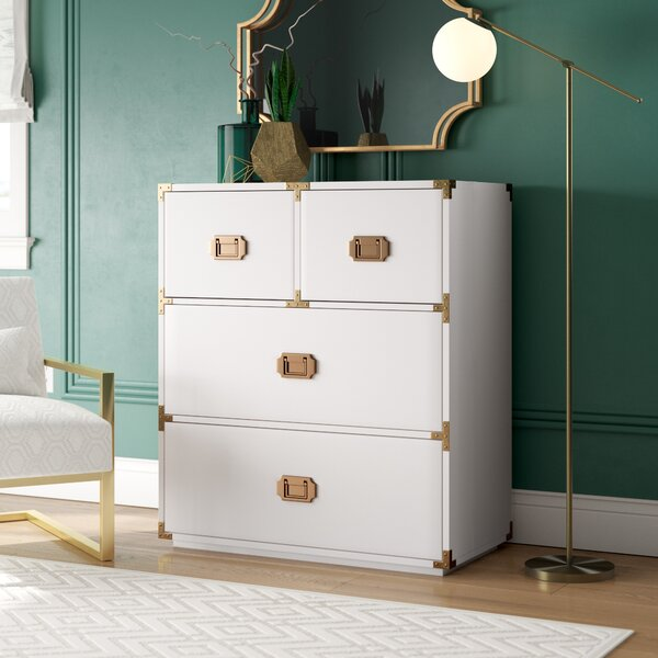 Kelly 4 Drawer Chest by Willa Arlo Interiors Willa Arlo Interiors