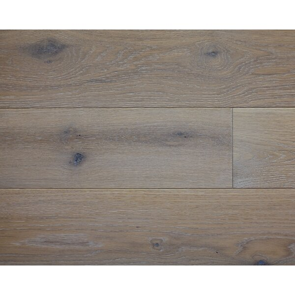American Traditions 7 Engineered White Oak Hardwood Flooring in Zinc by Albero Valley
