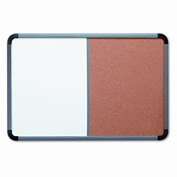 Collaboration Boards Wall Mounted Combo Board by Iceberg Enterprises