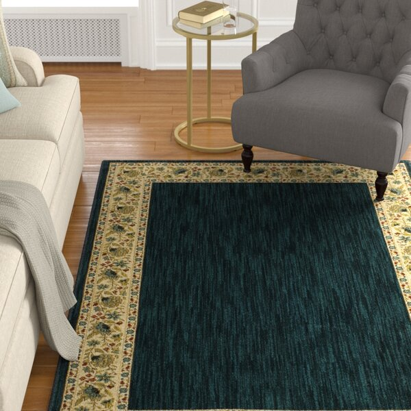 Risner Navy/Ivory Area Rug by Astoria Grand