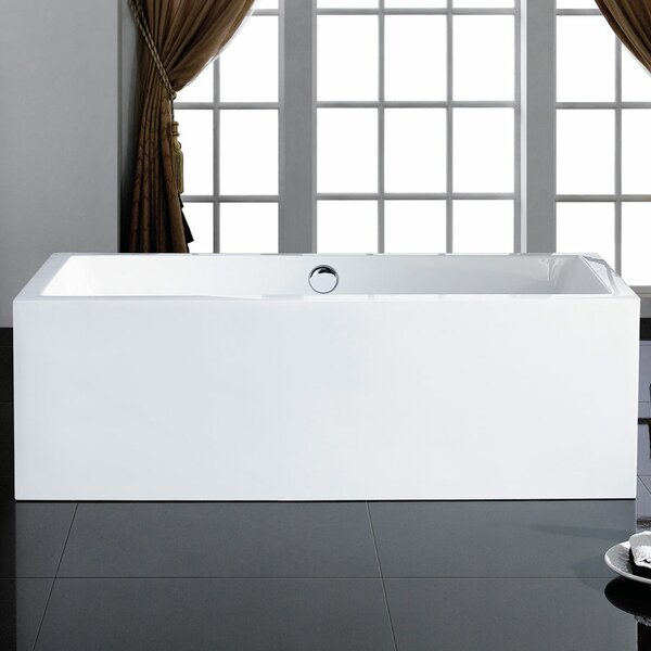 Caesar 60 x 31 Soaking Bathtub by Pacific Collection