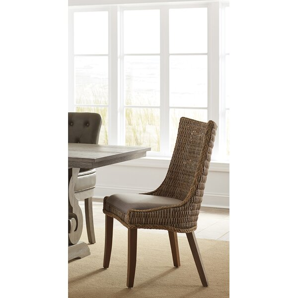 Jabari Side Chair In Brown (Set Of 2) By Bayou Breeze