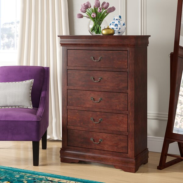 Emily 5 Drawer Chest By Grovelane Teen by Grovelane Teen Sale