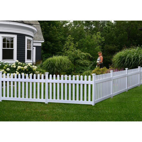 3 ft. H x 6 ft. W Newport Yard Fence Panel by Zipp