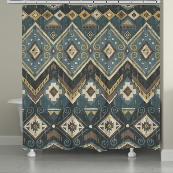Bruges Shower Curtain by Bloomsbury Market