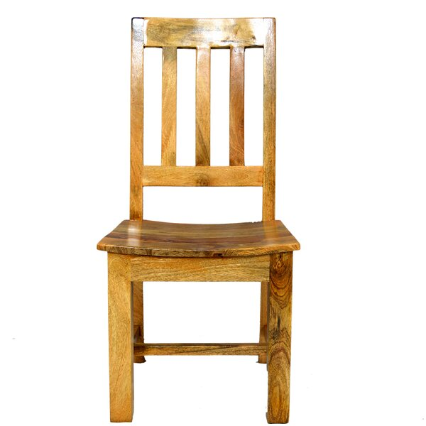 Harley Solid Wood Dining Chair by Millwood Pines