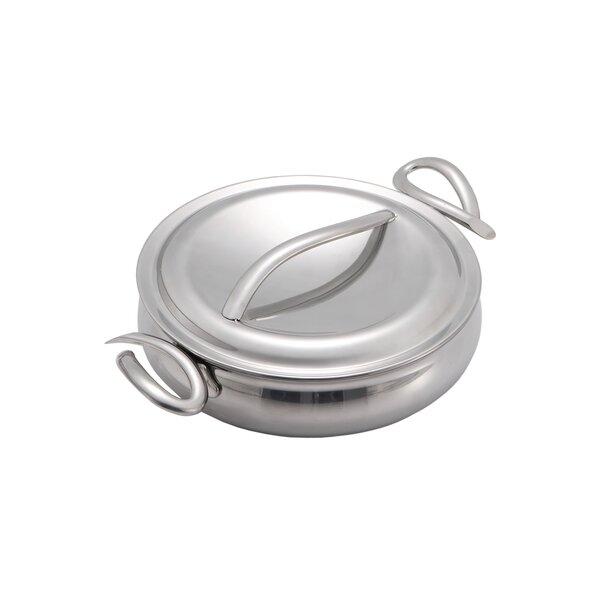 Cookserv Saute Pan with Lid by Nambe