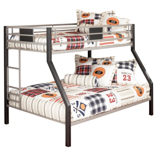 Komar Twin Over Full Bunk Bed by Zoomie Kids