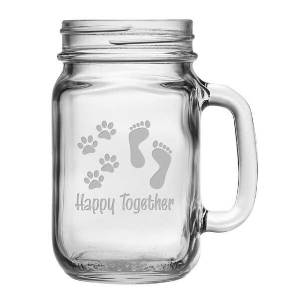 Mason Jar (Set of 4) by Susquehanna Glass