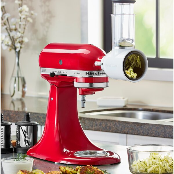 Fresh Prep Slicer/Shredder Attachment Stand Mixer - KSMVSA by KitchenAid