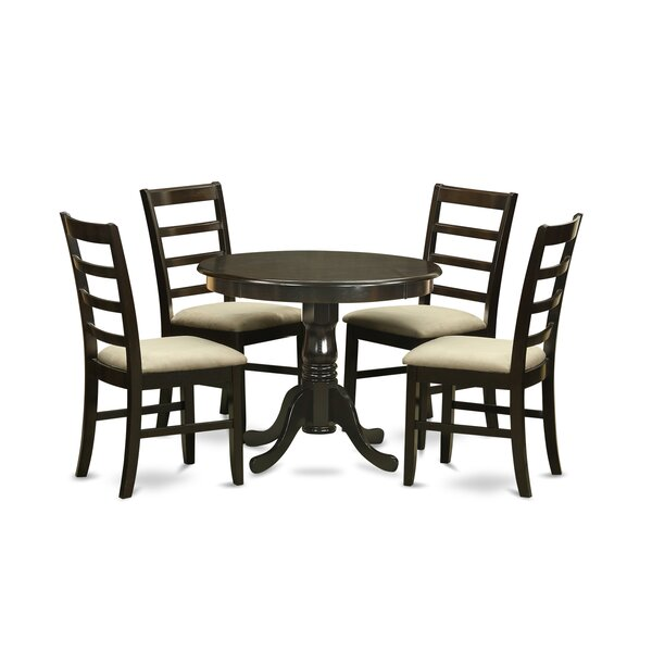 Smelley 5 Piece Dining Set By Charlton Home